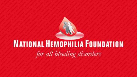 National Hemophilia Foundation logo